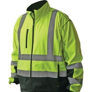 Forester� High Visibility Premium Softshell Jacket